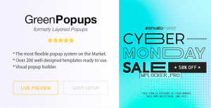 Green Popups (formerly Layered Popups) v7.1.2 – Popup Plugin for WordPress