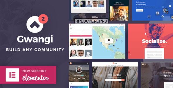 Gwangi v2.3.2 – PRO Multi-Purpose Membership, Social Network & BuddyPress Community Theme