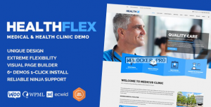 HEALTHFLEX v2.1.0 – Medical Health WordPress Theme