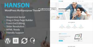 Hanson v2.2 – Multipurpose WordPress Theme