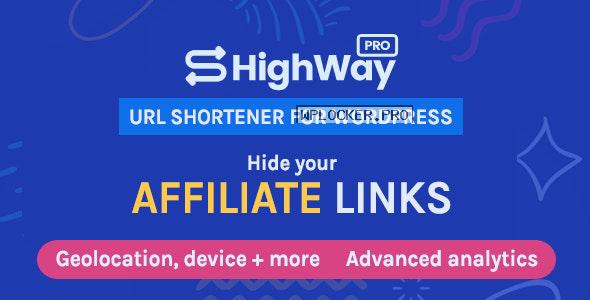 HighWayPro v1.5.0 – Ultimate URL Shortener & Link Cloaker for WordPress