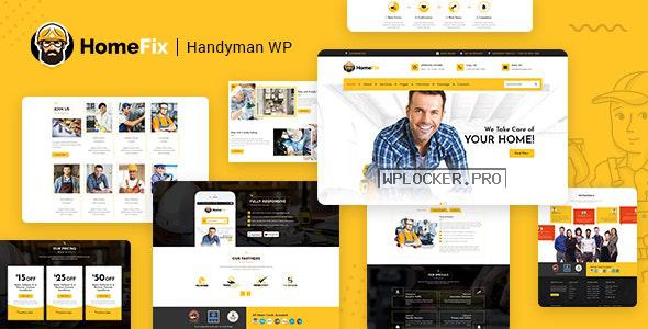 HomeFix v1.9 – Plumber, Handyman Maintenance Theme