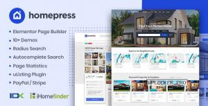HomePress v1.2.6 – Real Estate WordPress Theme