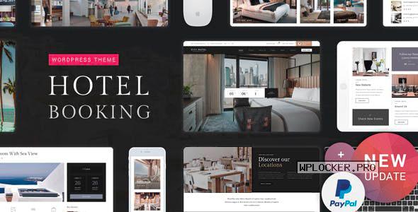 Hotel Booking v1.9 – Hotel WordPress Theme