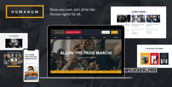 Humanum v1.0 – Human Rights WordPress Theme