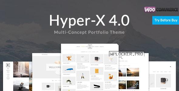 HyperX v4.9.6 – Portfolio for Freelancers & Agencies