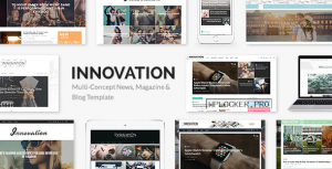 INNOVATION v5.7 – Multi-Concept News, Magazine & Blog Template
