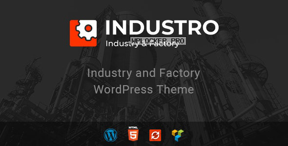 Industro v1.0.6.5 – Industry & Factory WordPress Theme