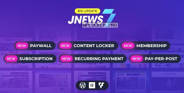 JNews v7.1.6 – WordPress Newspaper Magazine Blog AMP