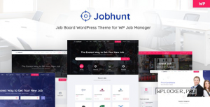 Jobhunt v1.2.5 – Job Board theme for WP Job Manager