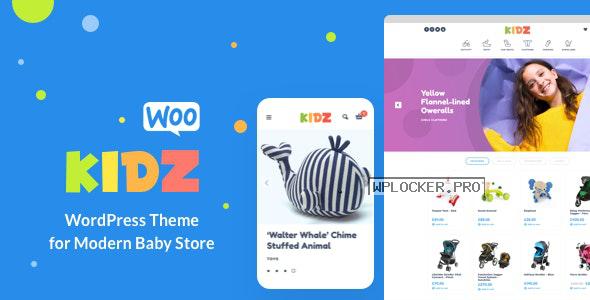 KIDZ v3.1 – Baby Store WooCommerce Theme