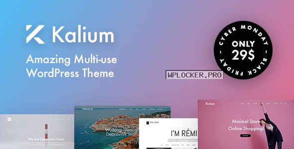 Kalium v3.1 – Creative Theme for Professionals
