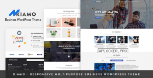 Kiamo v1.2.0 – Responsive Business Service WordPress Theme