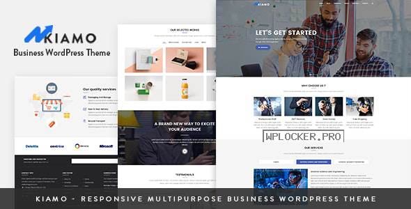 Kiamo v1.2.0 – Responsive Business Service WordPress Theme