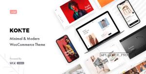 Konte v1.8.1 – Minimal & Modern WooCommerce Theme