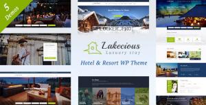 Lakecious v3.0 – Resort and Hotel WordPress Theme