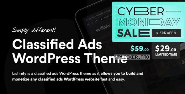 Lisfinity v1.1.16 – Classified Ads WordPress Theme