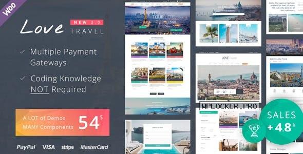 Love Travel v3.8 – Creative Travel Agency WordPress