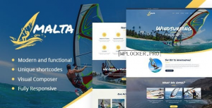 Malta v1.1.4 – Windsurfing, Kitesurfing & Wakesurfing Center Theme