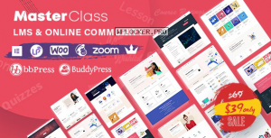 MasterClass v1.1.2 – LMS & Education WordPress Theme