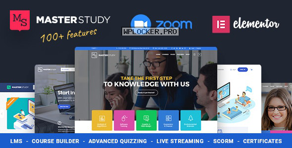 Masterstudy v4.1.0 – Education Center WordPress Theme