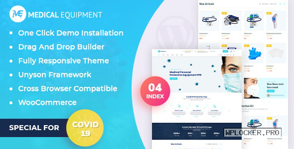 Medical Equipment v1.0.1 – eCommerce WordPress Theme