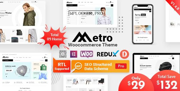 Metro v1.4.9 – Minimal WooCommerce WordPress Theme