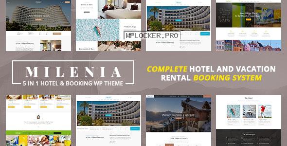 Milenia v1.2.6 – Hotel & Booking WordPress Theme