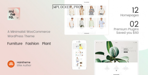 Minera v2.9.2 – Minimalist WooCommerce WordPress Theme
