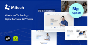 Mitech v1.4.0 – Technology IT Solutions & Services WordPress Theme