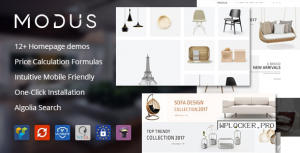 Modus v1.6.1 – Modern Furniture WooCommerce Theme