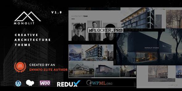 Monolit v1.9.8 – Responsive Architecture WordPress Theme