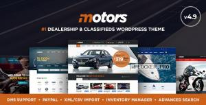 Motors v4.9.3 – Automotive, Cars, Vehicle, Boat Dealership