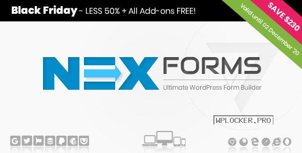 NEX-Forms v7.8 + Addons Pack