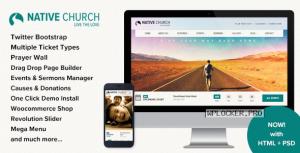 NativeChurch v3.5.2 – Multi Purpose WordPress Theme