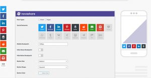 Novashare v1.1.3 – WordPress Social Sharing Plugin