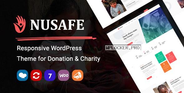 Nusafe v1.4 – Responsive WordPress Theme for Donation & Charity