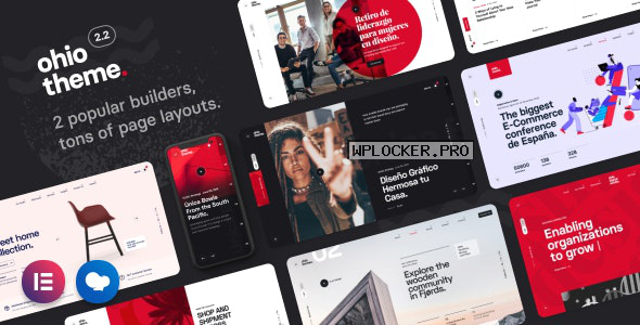 Ohio v2.2.0 – Creative Portfolio & Agency WordPress Theme