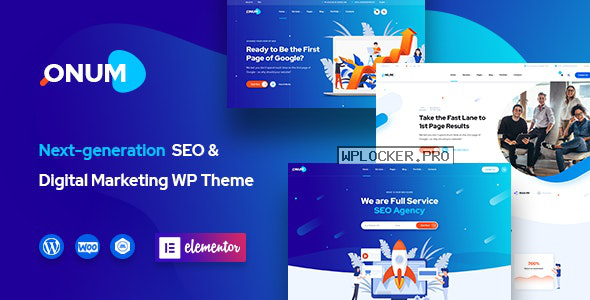 Onum v1.2.0.8 – SEO & Marketing Elementor WordPress Theme