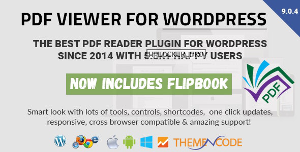 PDF viewer for WordPress v9.0.4