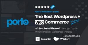 Porto v5.5.1 – Responsive eCommerce WordPress Theme