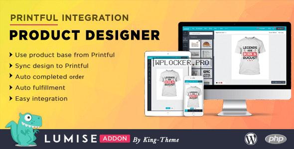 Printful Integration v1.0 – Addon for Lumise Product Designer