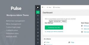 Pulse v1.1.2 – WordPress Admin Theme