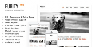 Purity v4.4.8 – Responsive, Minimal & Bold WP Theme