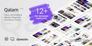 Qalam v1.5.0 – NewsPaper and Magazine WordPress Theme