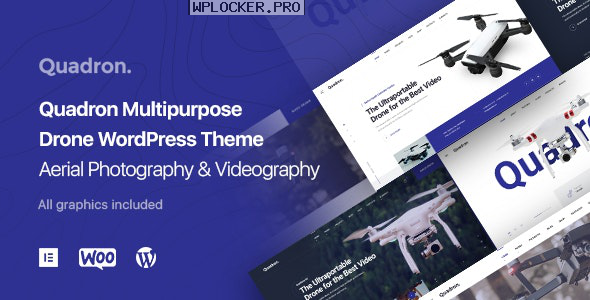 Quadron v1.1.0 – Aerial Photography & Videography Drone WordPress Theme