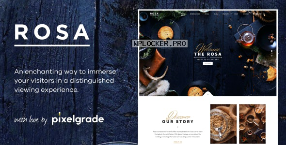 ROSA v2.7.0 – An Exquisite Restaurant WordPress Theme