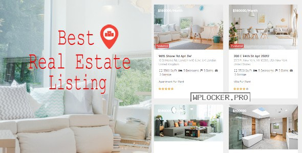 Real Estate Pro v1.8.8 – WordPress Plugin