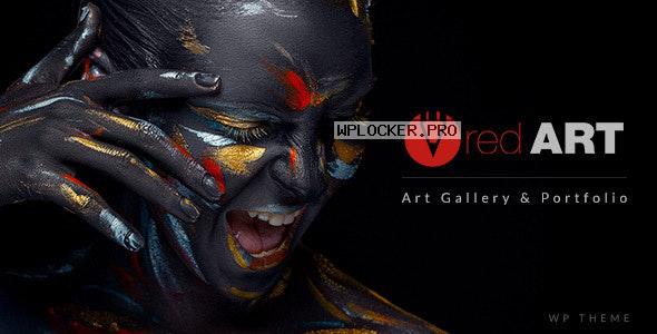 Red Art v2.2 – Artist Portfolio