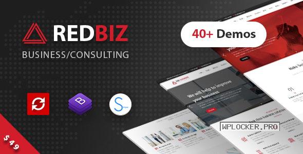RedBiz v1.2.3 – Finance & Consulting Multi-Purpose Theme